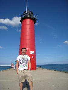 lighthouse, kenosha, WI