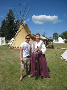 tepee and native american