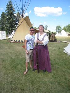 tepee and native american2